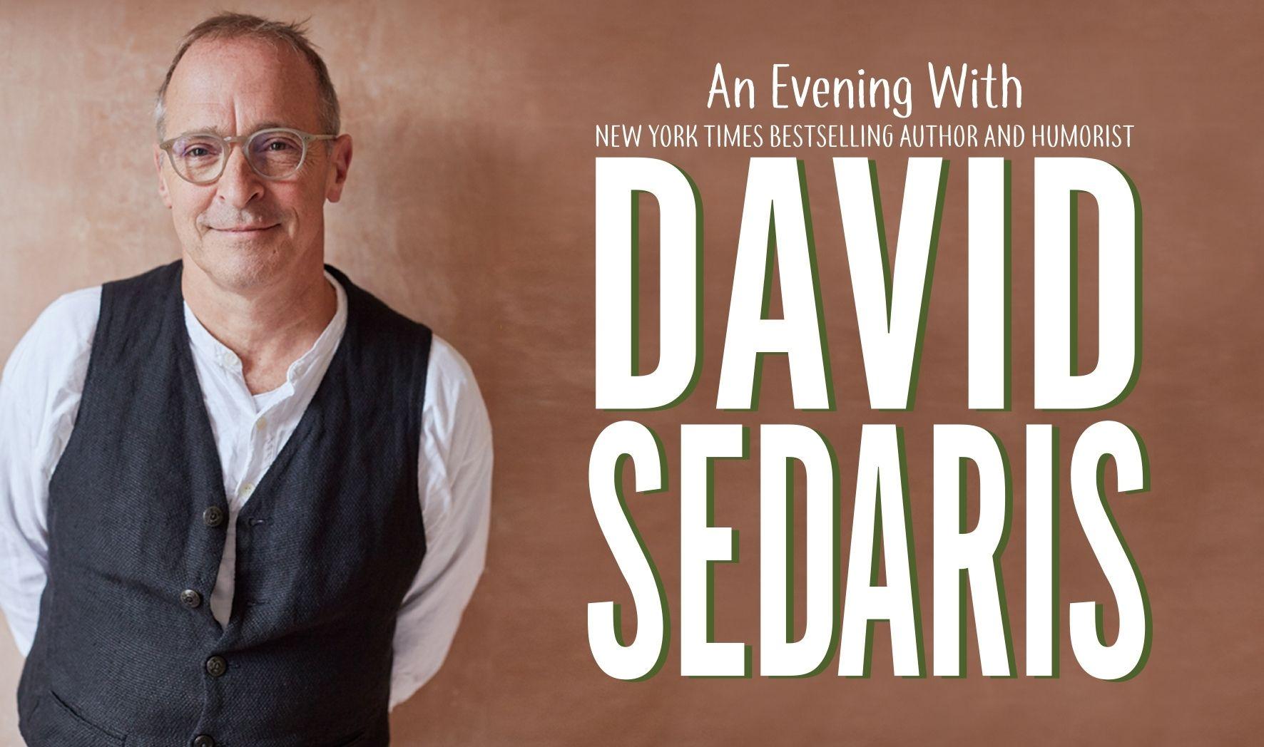 More Info for An Evening with David Sedaris