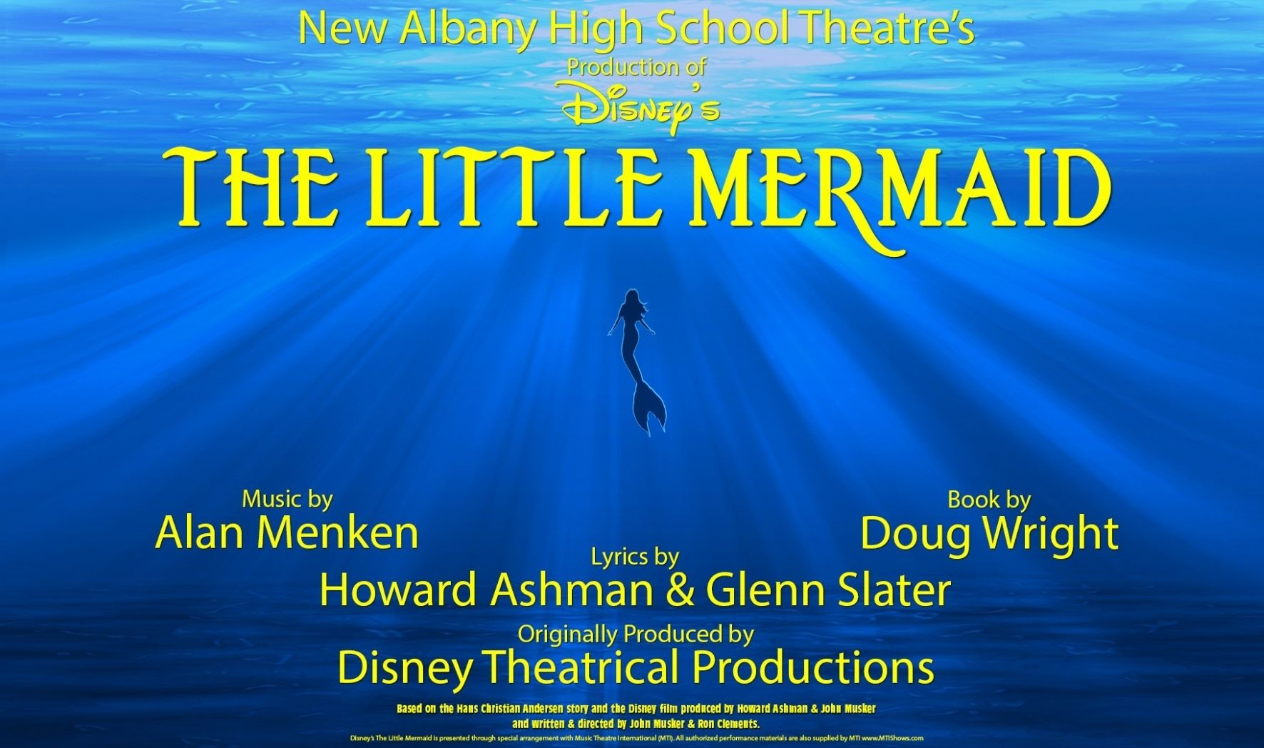 More Info for Production of Disney's The Little Mermaid
