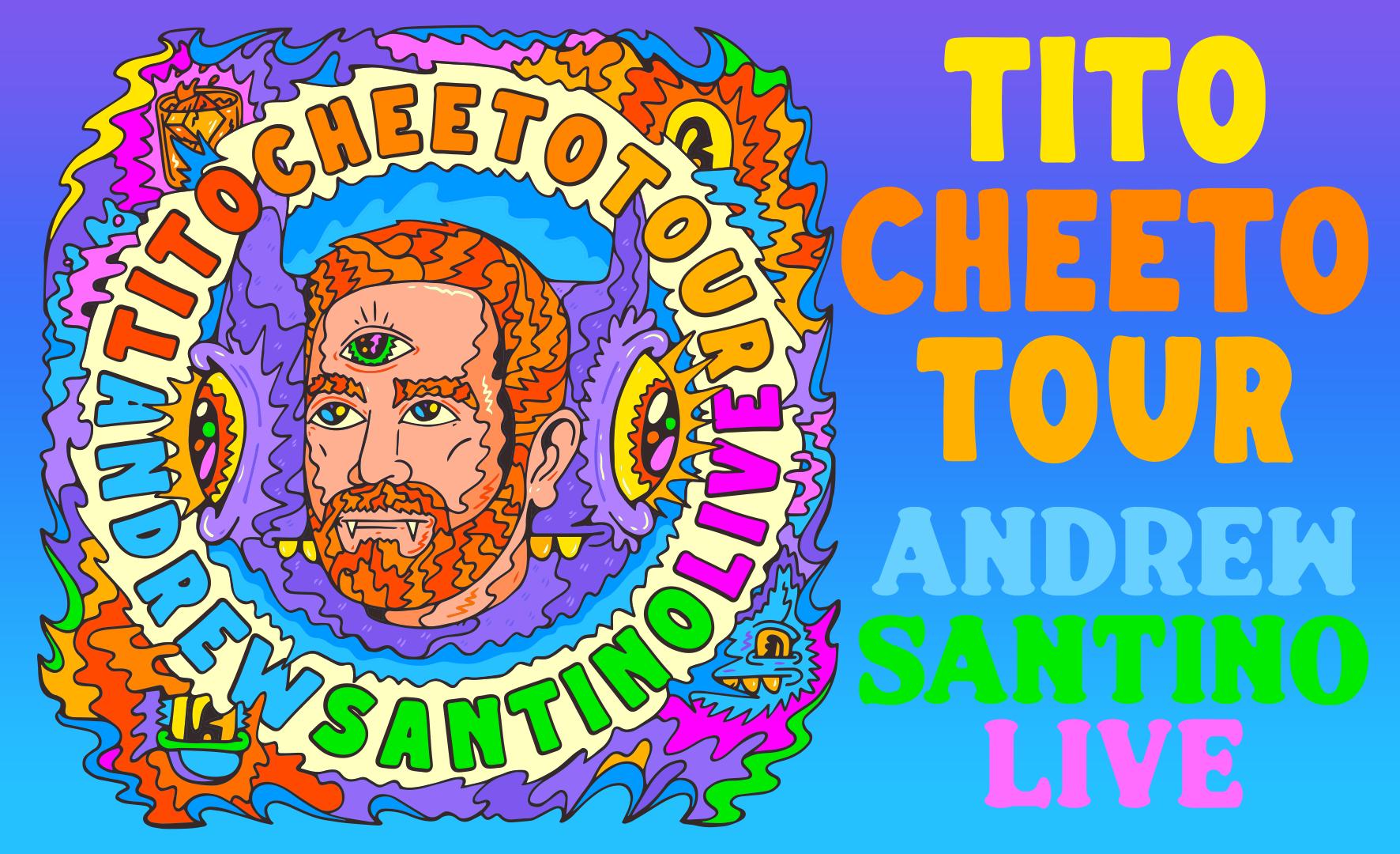 More Info for Tito Cheeto Tour – Andrew Santino Live
