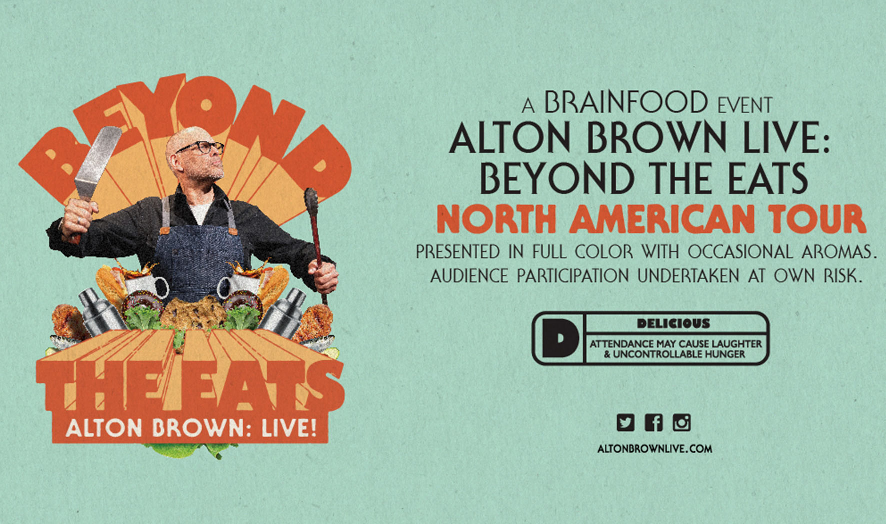 More Info for Alton Brown Live