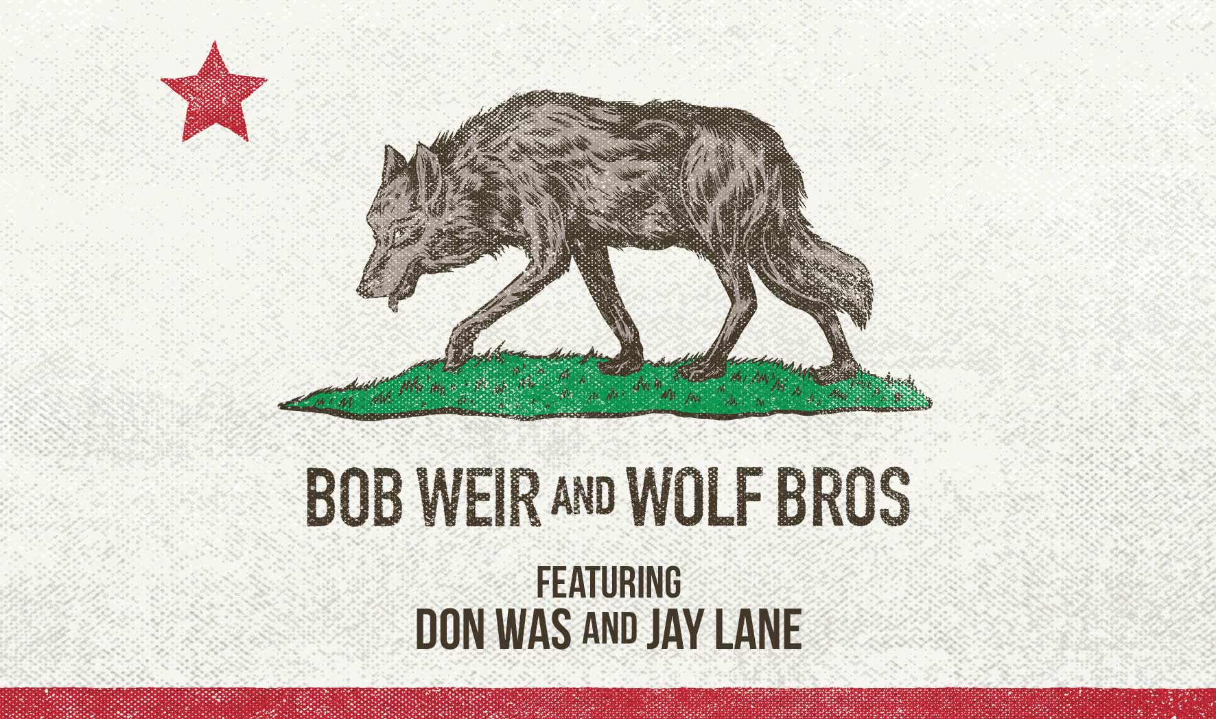 More Info for Bob Weir and Wolf Bros: NEW DATE