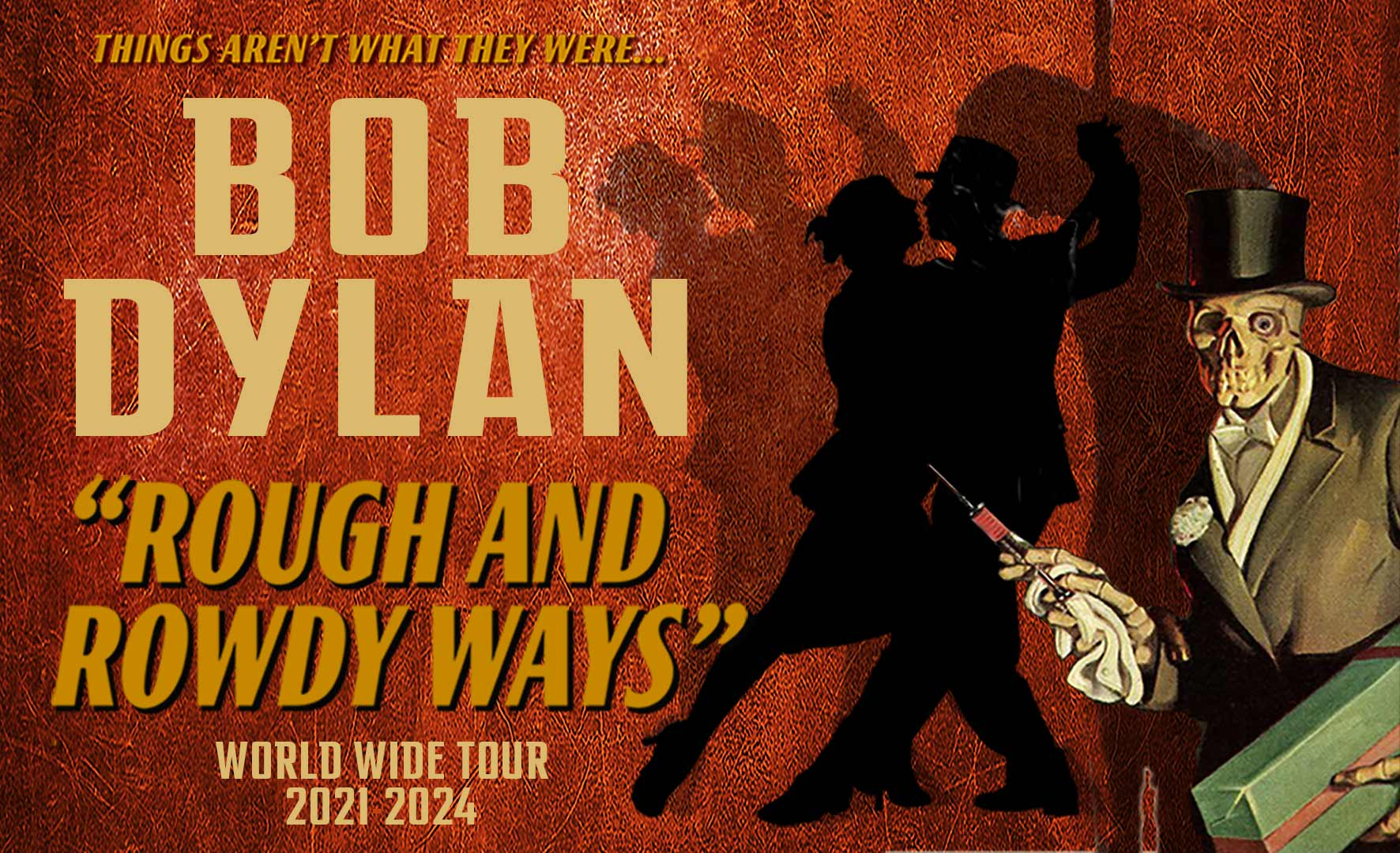 """More Info for Bob Dylan """"Rough and Rowdy Ways"""" Tour"""