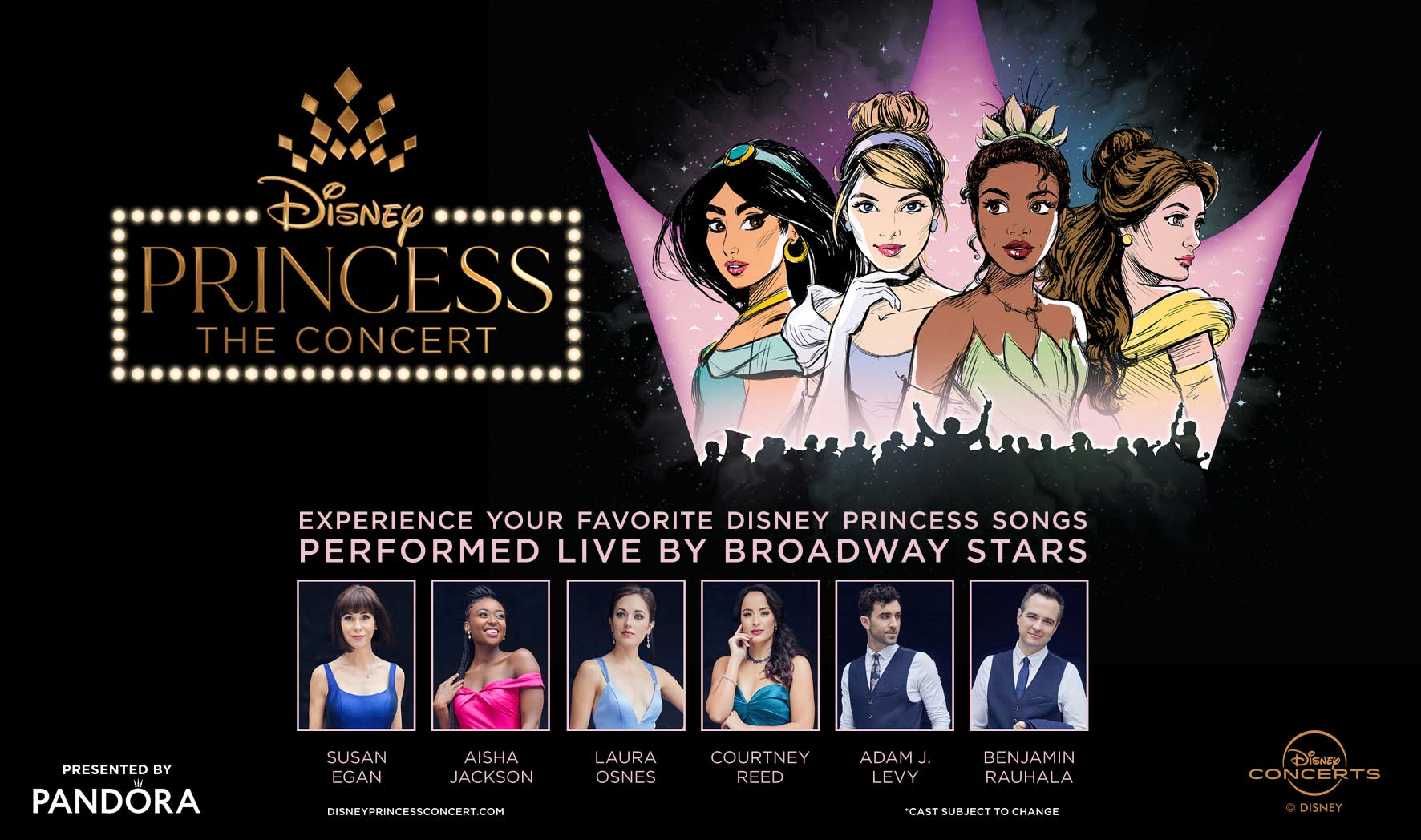 More Info for Pandora Presents Disney Princess - The Concert