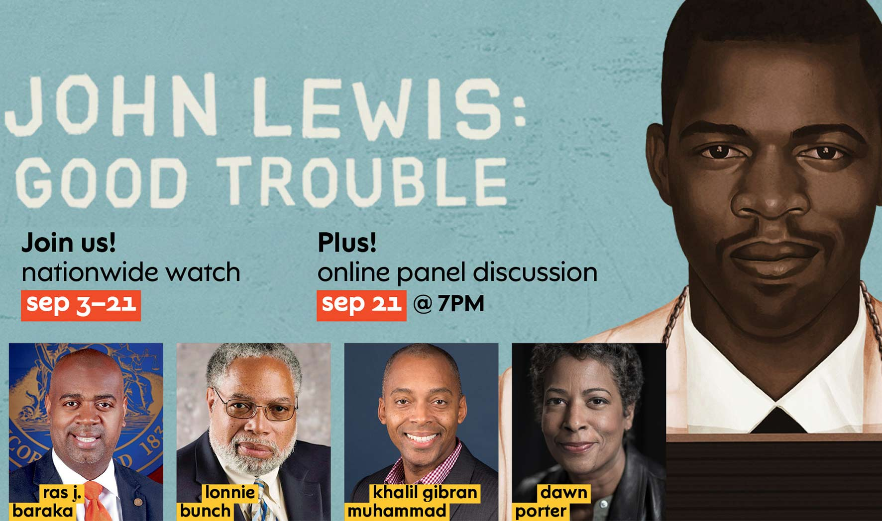 More Info for John Lewis: Good Trouble