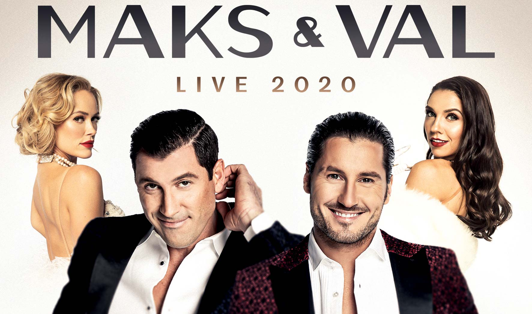 More Info for MAKS & VAL LIVE 2020 - Featuring Peta & Jenna