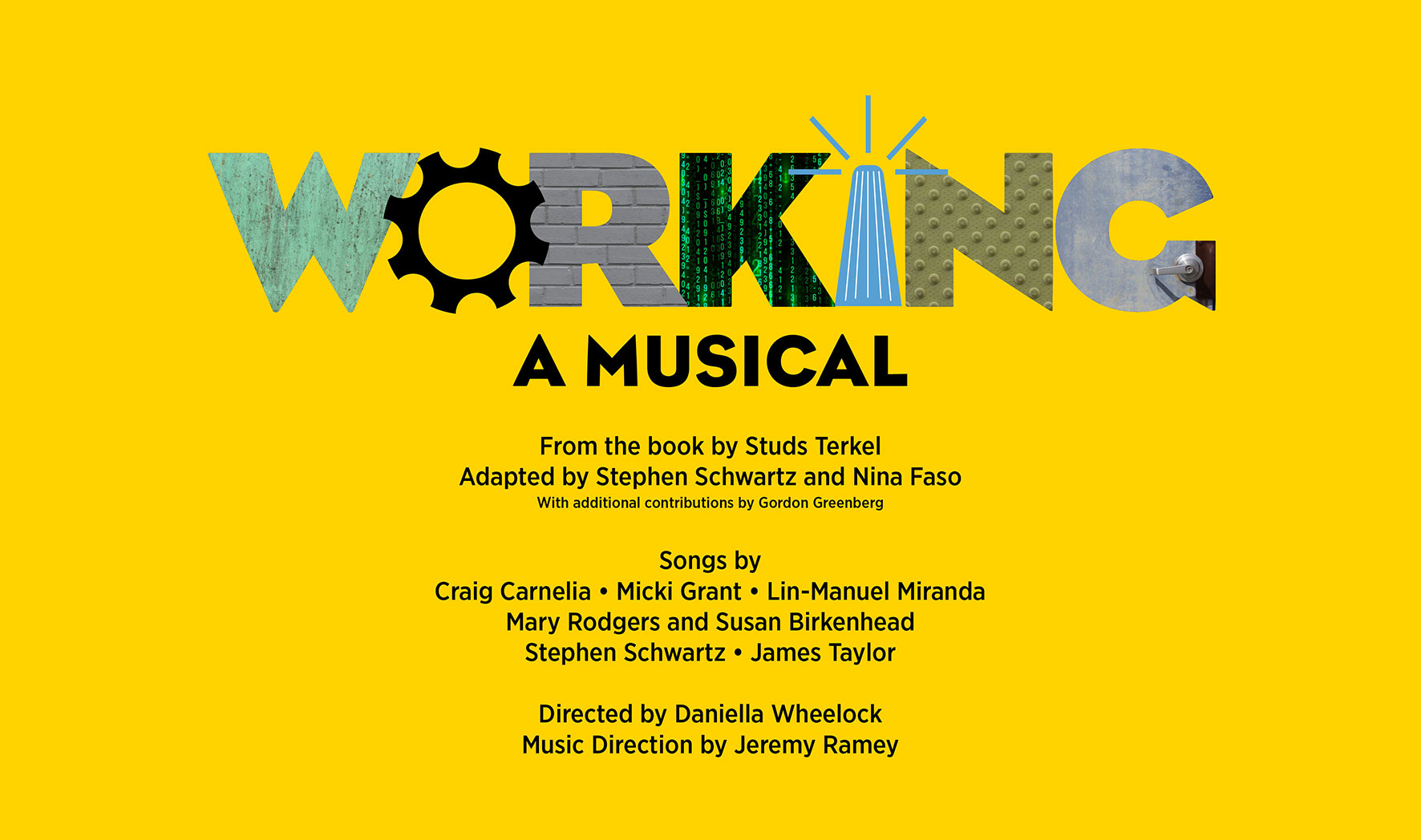 More Info for Working: A Musical