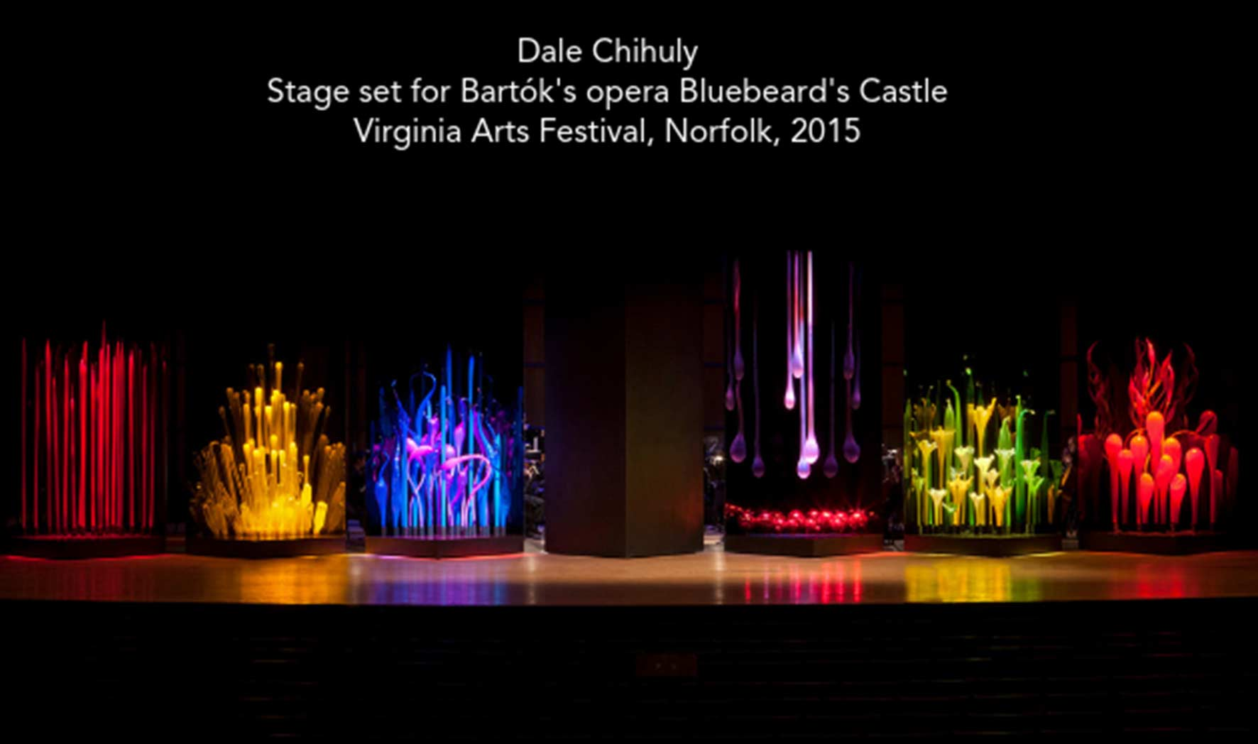 More Info for Chihuly Festival: Bluebeard's Castle