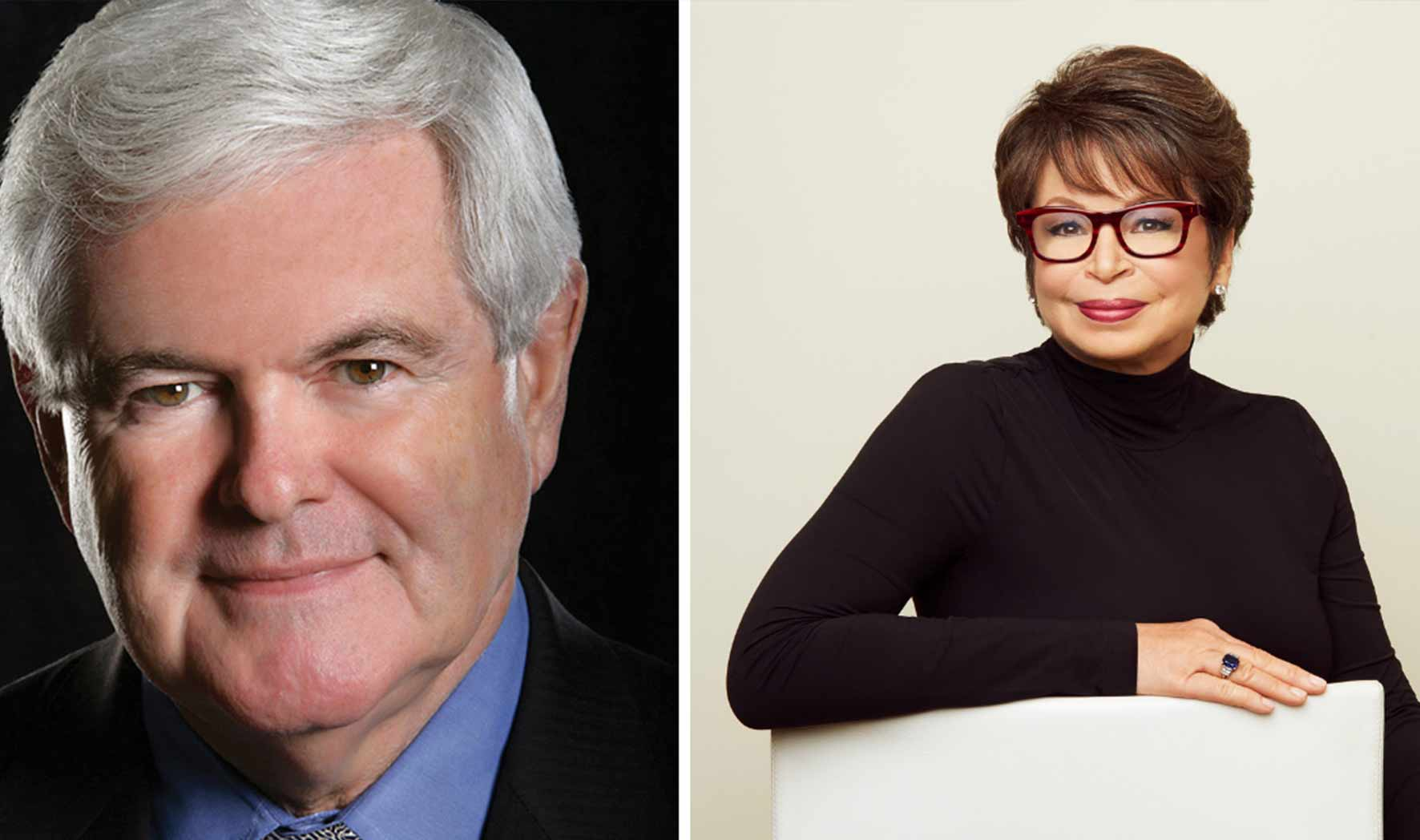 More Info for Newt Gingrich and Valerie Jarrett