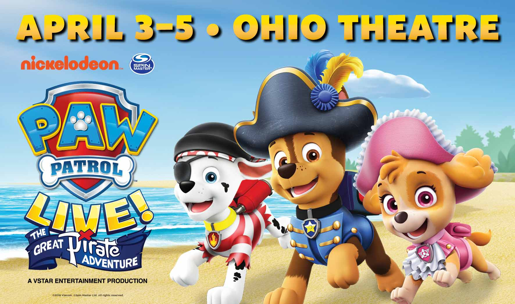 More Info for Paw Patrol Live!: NEW DATES